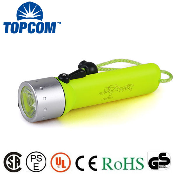 Professional LED Torch Lantern Lighting Light Underwater Diving Flashlight Torch Waterproof Portable Lamp For Hunting Camping