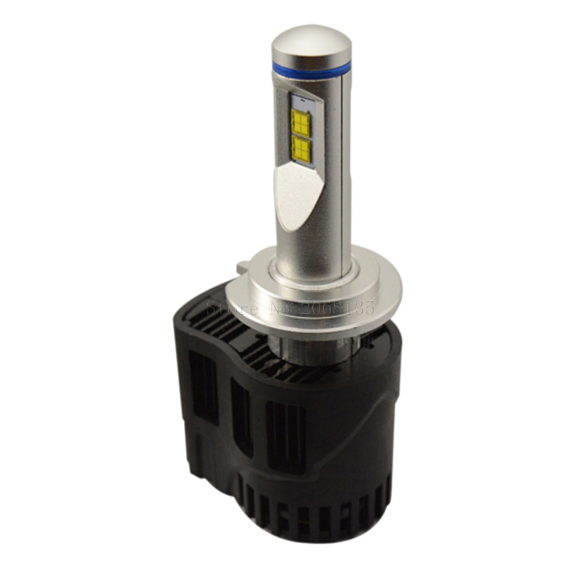 Runstreet (TM) h7 LED 3000 К 4000 К 5000 К 6000 К P6 lumileds лмз 10400lm автомобиль Светодиодная лампа фары Противотуманные фары conversion kit