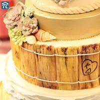 Cake Mould Driftwood Fondant Mold Fleshy Bark Flower Silicone Decoration Tools Chocolate DIY Candy 3D RandomlyBakeware Sugar