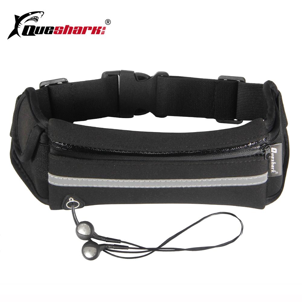 Reflective Straps Running Waist Bags Waterproof Jogging Mobile Phone Belt Belly Packs Men Women Breathable Sports Fitness Bag