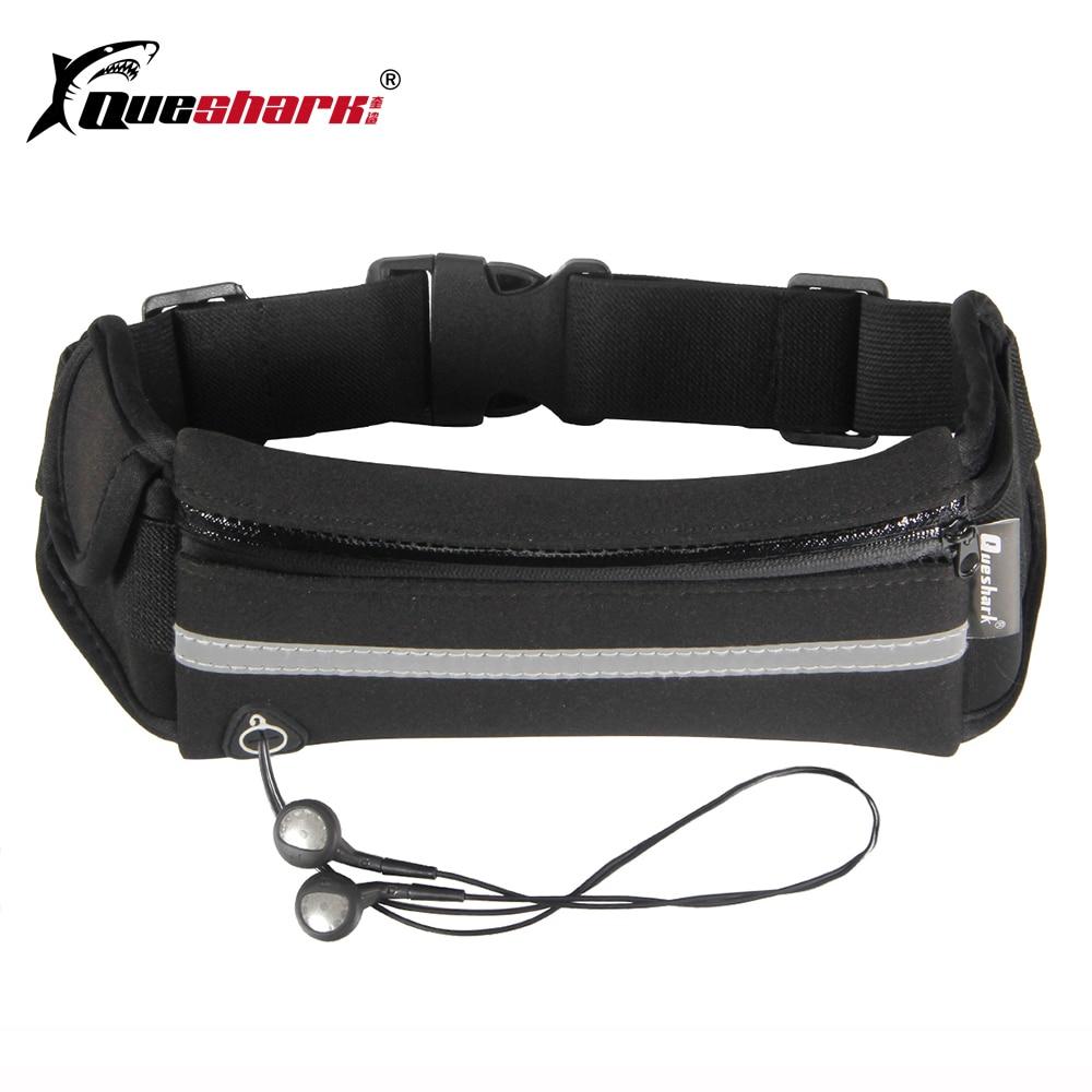 Reflective Straps Running Waist Bags Waterproof Jogging Mobile Phone Belt Belly Packs Men Women Breathable Sports Fitness Bag