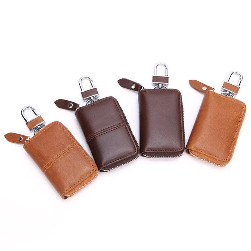 Keychain Men Women Key Holder Organizer Pouch Multi Function Key Case Fashion Housekeeper Key Holders Mini Card Bag