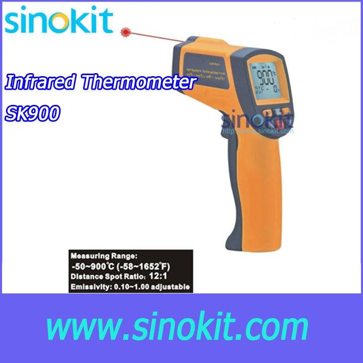 Free shipping lase range -50 ~ 900C Infrared thermometer SK900Free shipping lase range -50 ~ 900C Infrared thermometer SK900