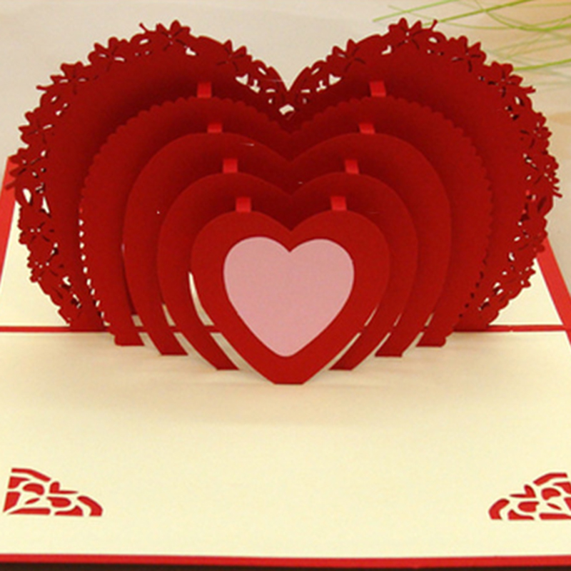 Online Get Cheap 3d Greeting Card Aliexpress – Valentines Day Post Card