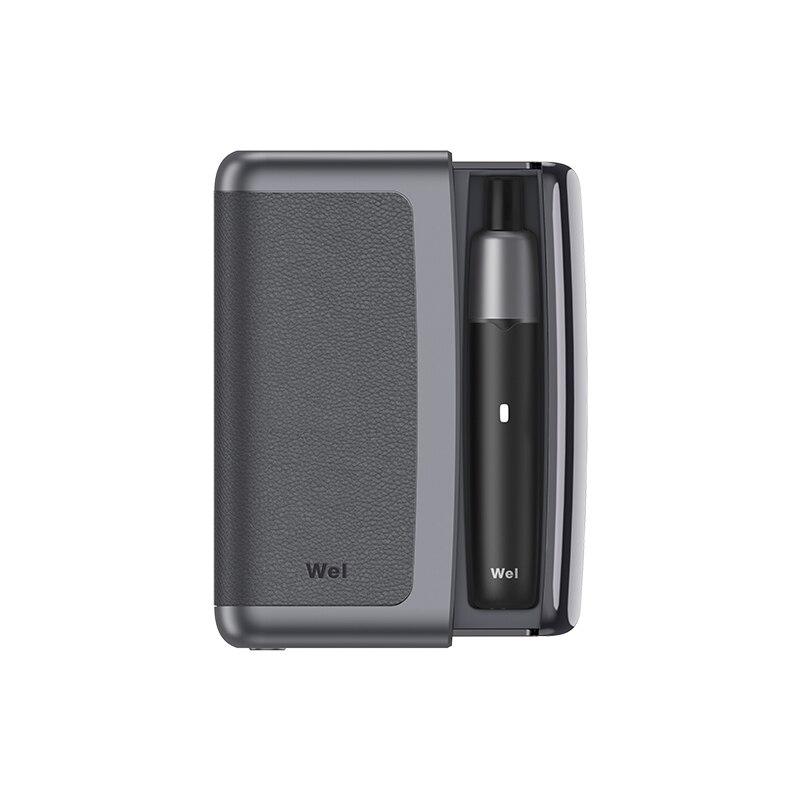 Nouveau Kit de démarrage pour dosettes Wel Max7 Kit de Vape alimentation LED indicateur de Cigarette électronique VS SMOK iqos Infinix Kit de système