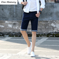 DEE MOONLY 2017 New Fashion Men's Short Jeans Cotton Summer Style Shorts Thin Breathable Denim Shorts Men Jeans Blue Black