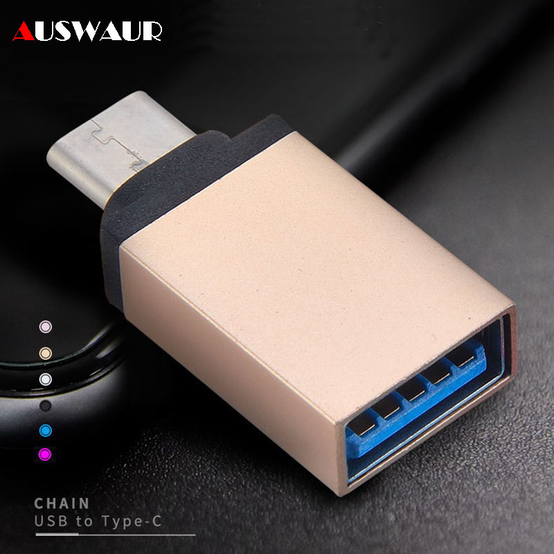 USB Type C OTG Adapter Type-C Male To USB 3.0 Female Adapter OTG For Matebook Macbook Xiaomi Mi8 Huawei Mobile