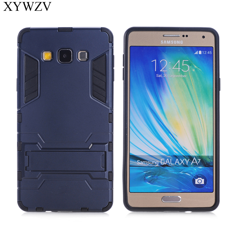 For Cover Samsung Galaxy A7 2015 Case Rubber Phone A700 XYWZV