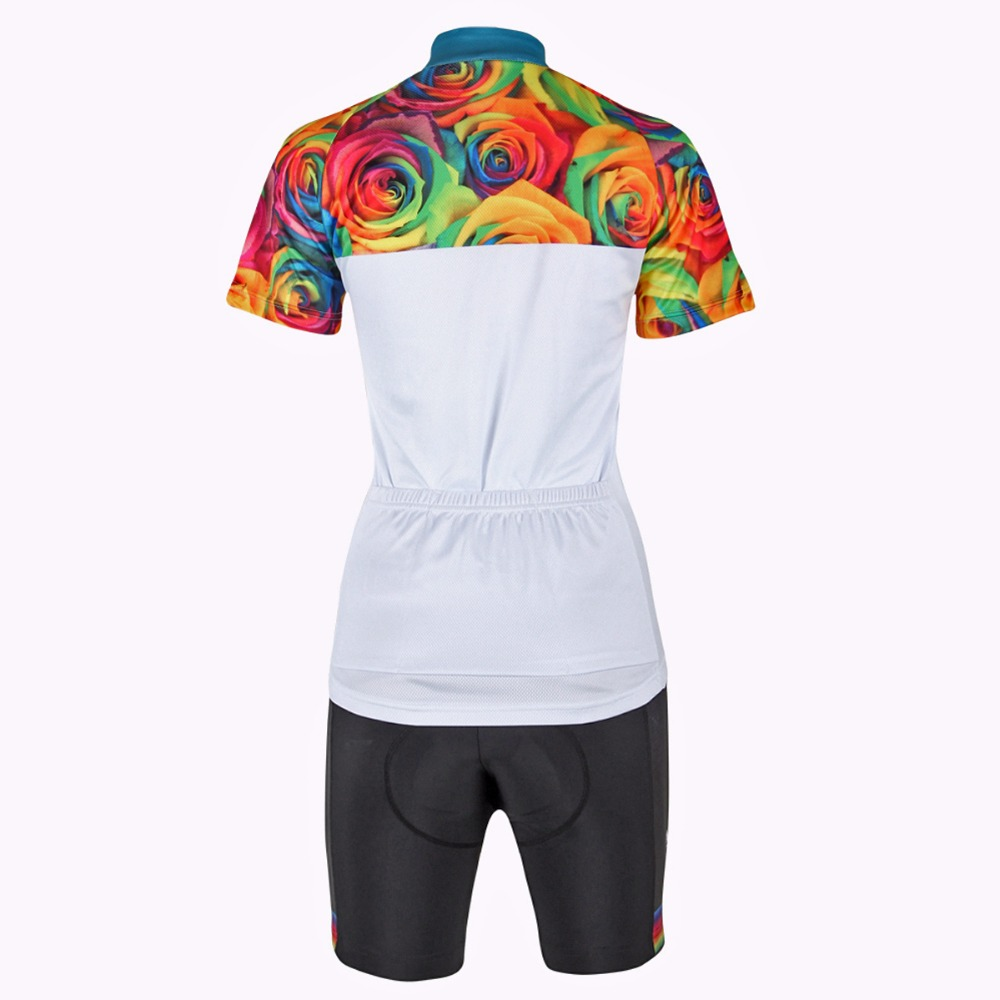 147da7c0c ILPALADINO Women Jersey Cycling Bicycle Wear MTB Clothing Color Roses Rose  Thorns Outdoor Sportswear Mountain Bike Sport-in Cycling Jerseys from Sports  ...