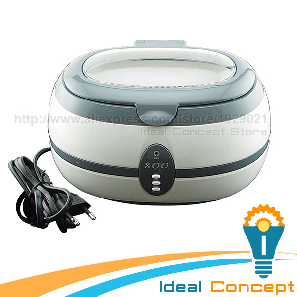 600ml Ultrasonic Cleaner Cleans Jewellery Dental Watch Glasses Necklaces Metal Dishware Rings 220V цена