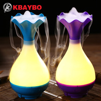 USB Air Humidifier Ultrasonic Aromatherapy Essential Oil Aroma Diffuser With LED Night Light Mist Purifier Atomizer
