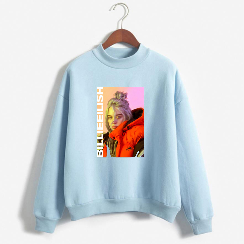 2019 Vogue women billie eilish hoodies aesthetic Streetwear bts Sweatshirt regular fashion womens Clothing Thank U Next hoodie Куртка