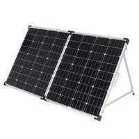 Dokio 160W Foldable Solar Panel China 18V Solar Panels Waterproof Cell/System Charger 12V Charge With Controller 150W Solar Sets
