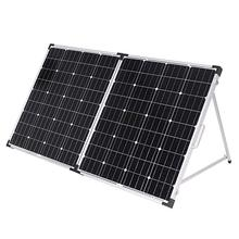 Dokio 160W Foldable Solar Panel China 18V Panels Waterproof Cell/System Charger 12V Charge With Controller 150W Sets