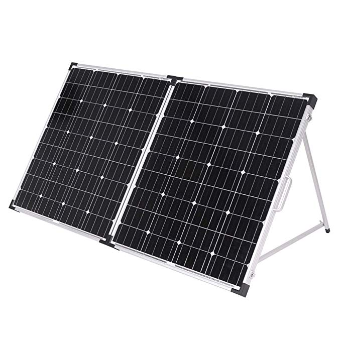 Dokio 160W Foldable <font><b>Solar</b></font> <font><b>Panel</b></font> China 18V <font><b>Solar</b></font> <font><b>Panels</b></font> Waterproof Cell/System Charger 12V Charge With Controller <font><b>150W</b></font> <font><b>Solar</b></font> Sets image