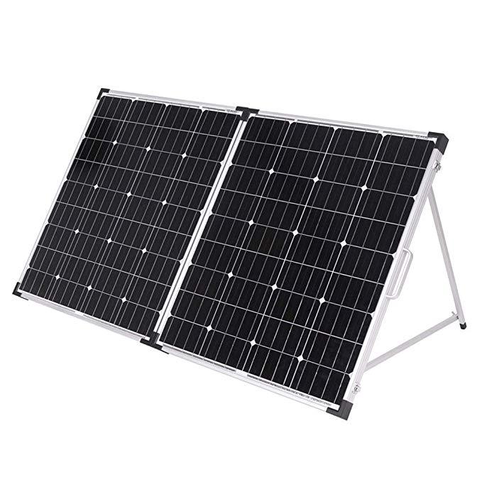 Dokio Painéis Solares de 160W Dobrável Painel Solar China 18V Celular À Prova D' Água/Carregador 12V Carga Do Sistema Com 150W controlador Solar Conjuntos