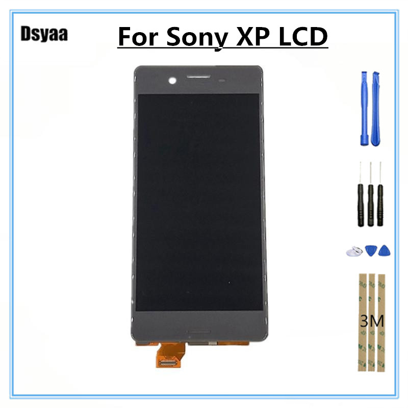 For Sony Xperia X Performance XP F8131 F8132 LCD Display with Touch Screen Digitizer Assembly Mobile Phone Parts 5