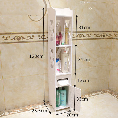 Floor Standing Bathroom Storage Rack