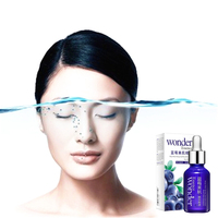 100% Nature Blueberry Wonder Essence For Face Skin Care Effect Plant Extract Anti Wrinkle Facial Serum Sodium Hyaluronate Serum Face Care Serum