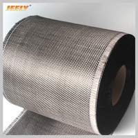 0.2m wide Carbon Fiber 3K 200g/m2 Carbon Yarn Woven Interlayer Reinforcement