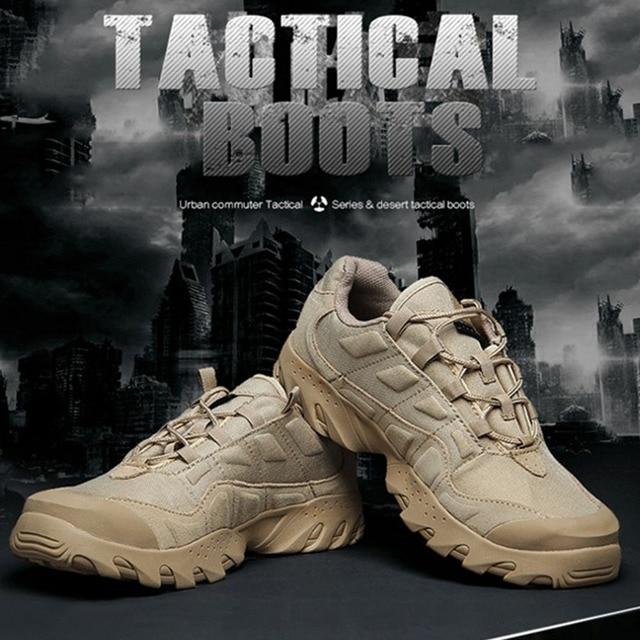 TTGTACTICAL Открытый Тактические Ботинки Боевых Обувь Водоотталкивающая Cordura SWAT Отдых На Природе Пустыни Сапоги Черный/Пустыня
