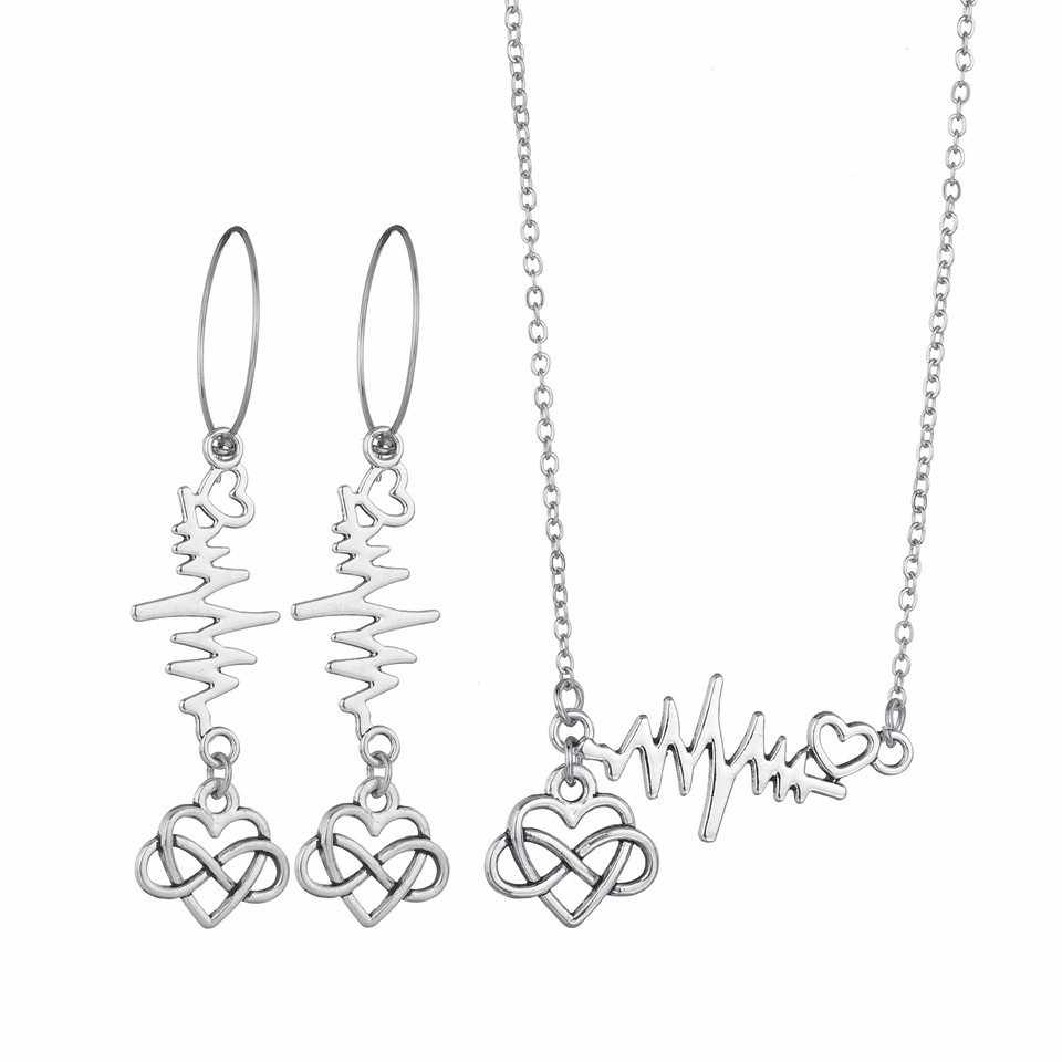 New 3PCS Women Trendy Earrings&Necklace Sets Bowknot Butterfly Rhinestone Female Jewelry Women Wedding Jewelry Gold Chain