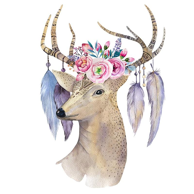 Fezrgea Nya DIY 5D Diamond Broderi Korsstygn Dream Elk Full - Konst, hantverk och sömnad - Foto 3