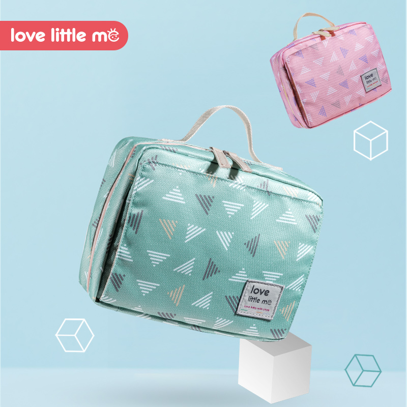 Love Little Me Portable Baby Diaper Bag Maternity Bag Waterproof Wet Cloth Diaper bag Reusable Diaper Cover Baby Care For Mom
