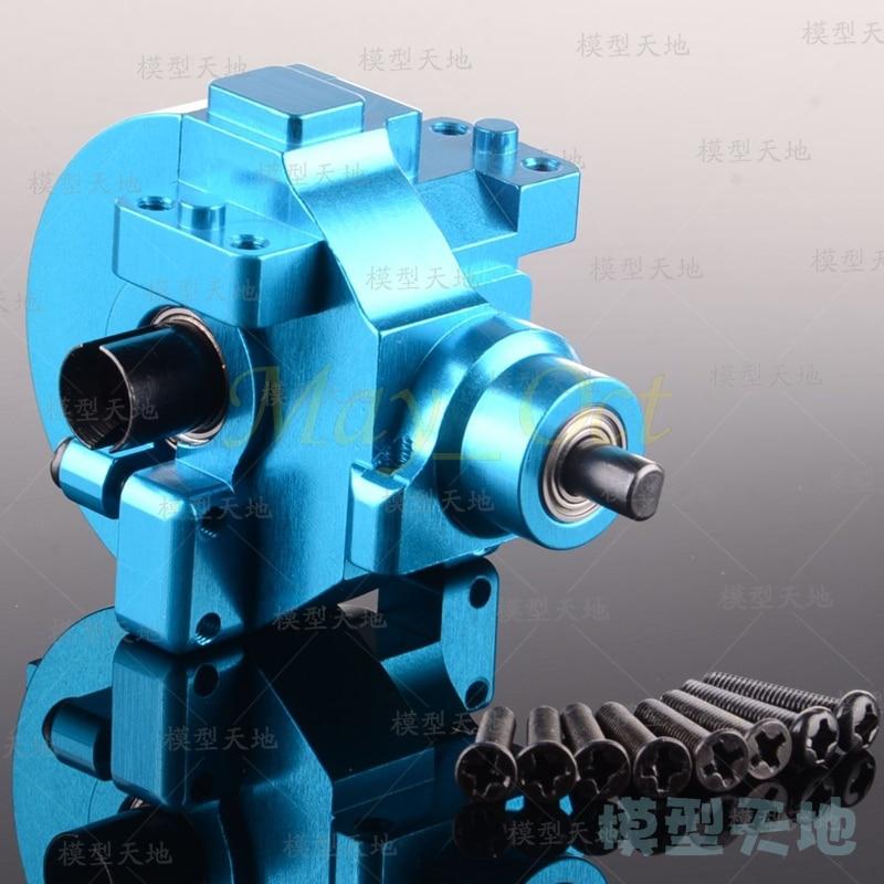 RC car Aluminum Alloy Front Rear Gear Box Complete Driver 02030 03015 02024 02051 102075 1/10 HSP 94123 94107 94111 94108