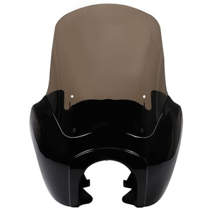 """Image 2 - Motorcycle Front Fairing w/ 15"""" Windshield For Harley Dyna Wide Glide Low Rider Street Bob FXDL FXDXT T Sport"""