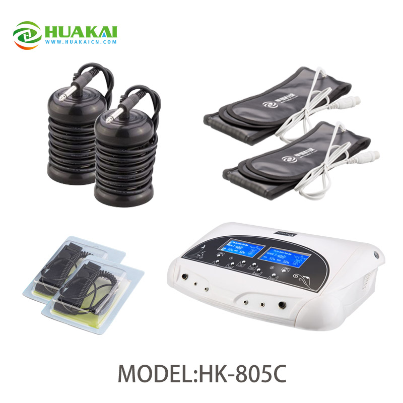 Dual Cleanse for 2 Persons Use Detox Ion Foot Spa Machine with CE FDA все цены