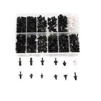 Dongzhen 350pcs Car Push Pin Rivet Trim Clip Panel Body Interior Moulding Assortment Kit