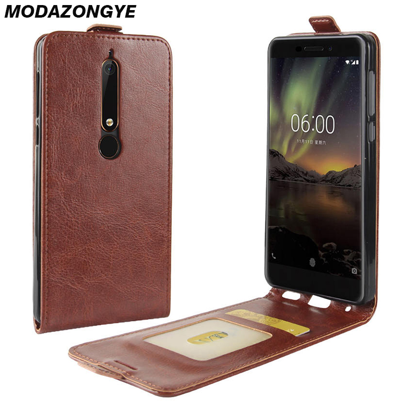 For <font><b>Nokia</b></font> <font><b>6.1</b></font> <font><b>Case</b></font> <font><b>Nokia</b></font> 6 2018 <font><b>Case</b></font> PU <font><b>Leather</b></font> Cover Phone <font><b>Case</b></font> For <font><b>Nokia</b></font> <font><b>6.1</b></font> TA-1068 TA-1050 TA-1043 TA-1016 TA-1045 <font><b>Case</b></font> <font><b>Flip</b></font> image