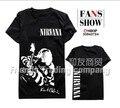 Лето тенденция уникальный панк rock женщины нирвана logo топы женская одежда женщины майка рубашки