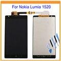 Para nokia lumia 1520 display lcd com conjunto de tela de toque digitador assembléia + ferramentas frete grátis