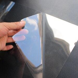 Image 3 - Глянцевая прозрачная стеклянная Защитная пленка для мебельного стола, 50 см x 200 см, 2Mil, наклейка на рабочий стол, защитная пленка с клеем