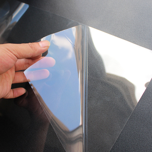 Image 3 - 50cm x 200cm 2Mil Glossy Transparent Furniture Table Glass Protective Film Home Table Desk Sticker Protective with adhesive