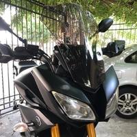 Moto Windshield air deflector For Yamaha MT 09 FJ09 Tracer WindScreen For 2015 2016 2017 Yamaha FJ 09 FJ09 MT09 MT 09