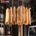 Modern Woods Pendant By Arturo Alvarez wooden suspension light whole sale Dia60/ 80/ 100CM