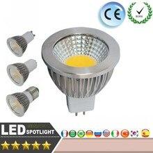 Светодиодный светильник с регулируемой яркостью 9 Вт 12 Вт 15 Вт 20 Вт 25 Вт COB Точечный светильник E27 GU10 E14 MR16 220 в теплый белый/белый настенный потолочный светодиодный светильник