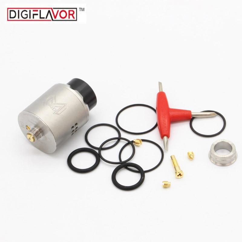 Original Digiflavor Mesh Pro RDA Tank Single /Dual Coils fit Mesh Wires 25mm Diameter Atomizer Postless Clamp Deck E cigarette
