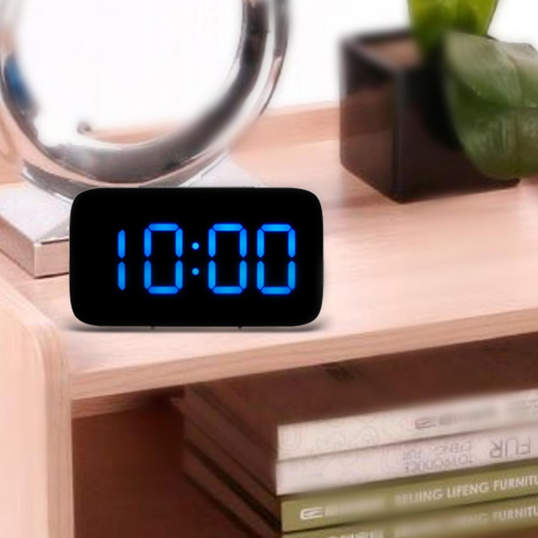 Computer & Office Blue Backlight Digital Alarm Clock Electronic Desktop Clock Table Led Clock Watch Snooze Reloj Regular Tea Drinking Improves Your Health