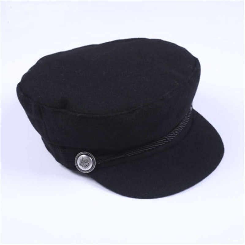 Женские Вязаный шерстяной свитер смесь Baker Boy достиг максимума Кепки Newsboy Hat