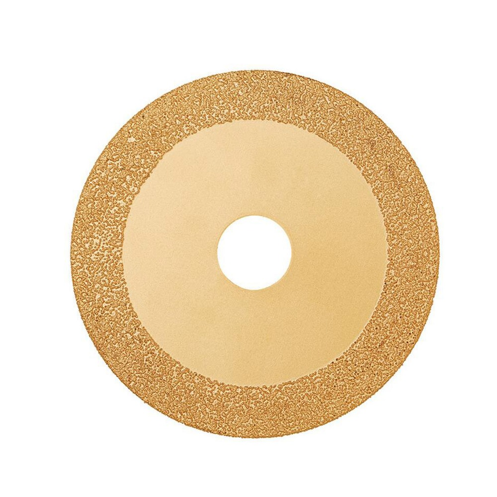 JLI Diamond Cutting 100mm Electroplated GlassSaw Blade Grinding Disc Grain Fineness <font><b>150</b></font> Rotary Tool Drill image