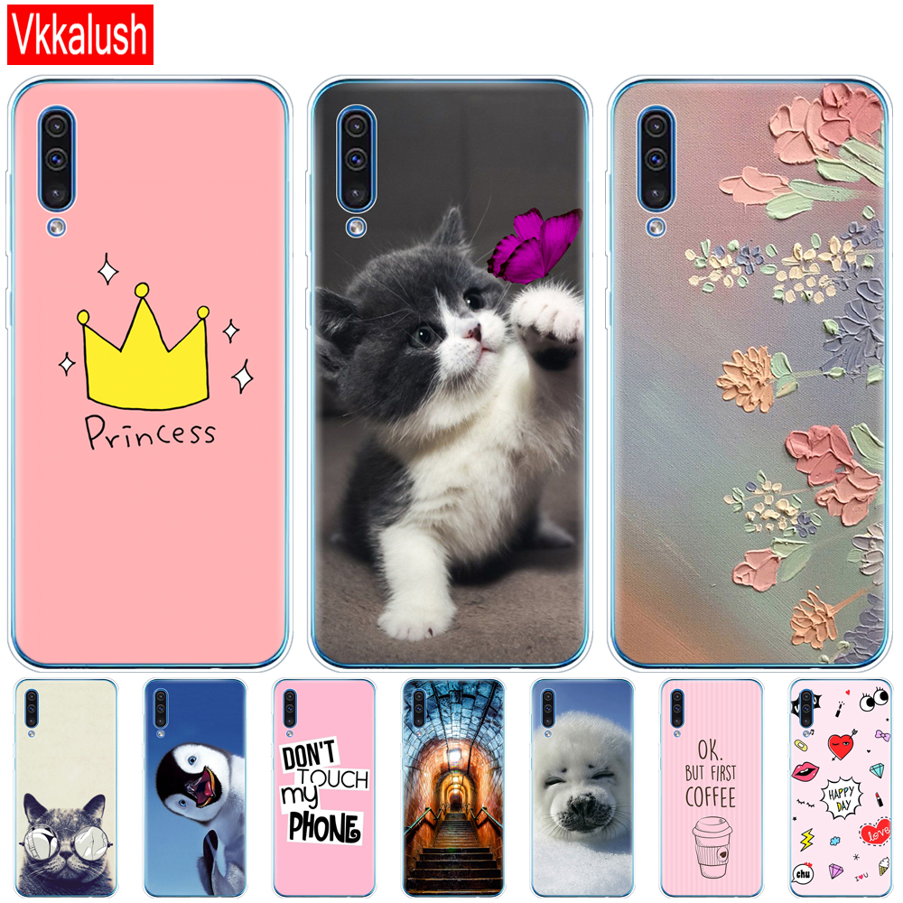 Case For <font><b>Samsung</b></font> <font><b>Galaxy</b></font> <font><b>A50</b></font> Case Soft Silicon Phone Case For <font><b>Samsung</b></font> <font><b>A50</b></font> A505 <font><b>A505F</b></font> SM-<font><b>A505F</b></font> 6.4