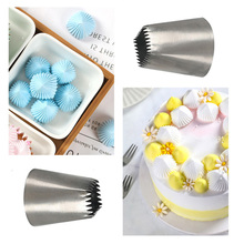 Large Size Square Icing Piping Nozzles Tip Baking Mold Cake Decorating Tools Pastry Sets Fondant