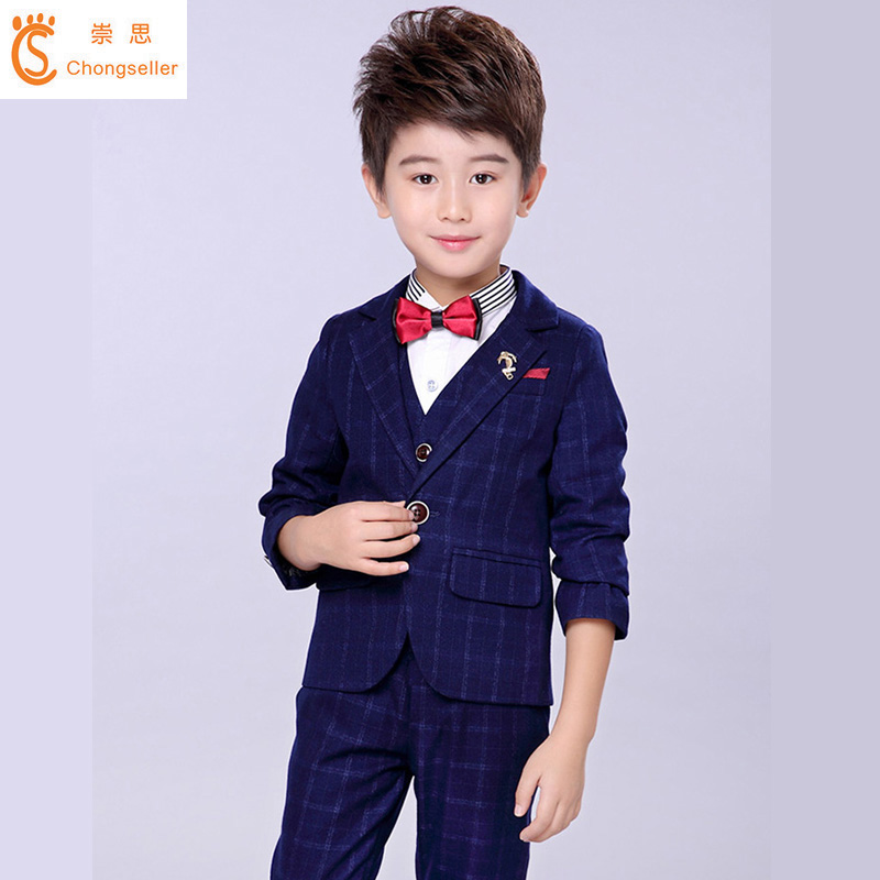 Full Regular Coat Boys Suits For Weddings Kids Wedding Clothes For Children Clothing Sets Boy Classic