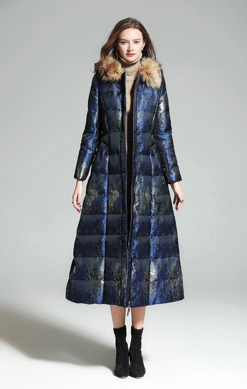 Taille De 2018 Haute Parka Coton Mince Col Manteau Mode Qualité Plus La Parkas D'hiver Chaud Color Veste Épais C3223 Fourrure Longue Picture Femmes CBordex