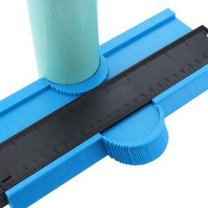 Image 3 - 5/10 Inch Contour Gauge Plastic Profile Copy Gauge  Profile Jig Guide Marking For Tile Edge Shape Copy Measuring Tool