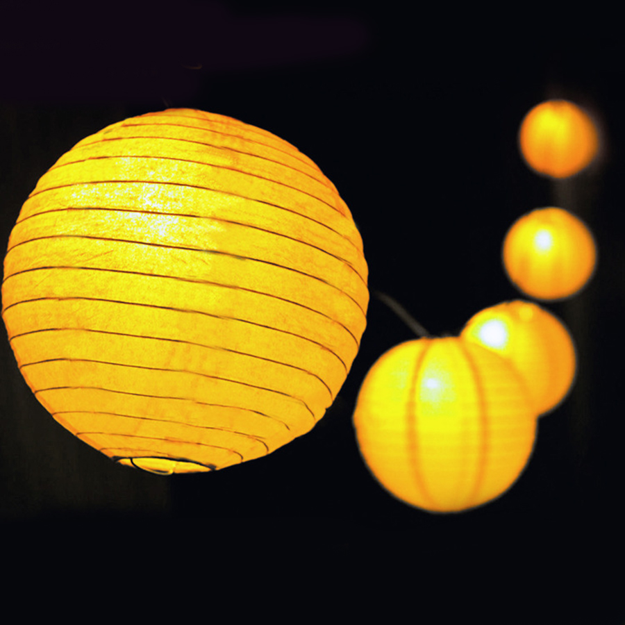 Outdoor Fairy Lantern Solar String Lights 5M 20 Leds, 6M 30leds Christmas  Globe Lights For Indoor Outdoor Home Garden Decoration